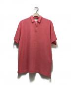 RHC Ron Herman(アールエイチシー ロンハーマン)の古着「パイル地ポロシャツ」|ピンク