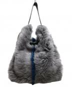 anita bilardi(アニタビラルディ)の古着「ファートートバッグ」 グレー