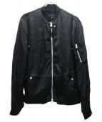 ALL SAINTS(オールセインツ)の古着「ボンバージャケット」 ブラック