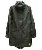 CAPE HEIGHTS(ケープハイツ)の古着「フーデットミリタリーコート」 カーキ