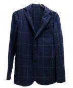 Errico Formicola(エリコフォルミコラ)の古着「段返り3Bジャケット」|ネイビー