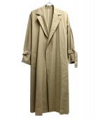 UNITED ARROWS TOKYO(ユナイティッドアローズトウキョウ)の古着「ドルマンテーラードコート」|ベージュ