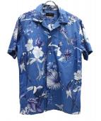 ETRO(エトロ)の古着「アロハシャツ」|ブルー