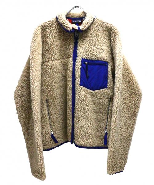 Patagonia(パタゴニア)Patagonia (パタゴニア) クラシックレトロカーディガン ベージュ サイズ:Mの古着・服飾アイテム