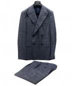 Belvest(ベルベスト)の古着「セットアップスーツ」|ブルー