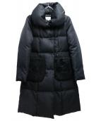 M-premier(エムプルミエ)の古着「ダウンコート」|ブラック