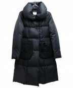 M-PREMIER(エムプルミエ)の古着「ダウンコート」 ブラック