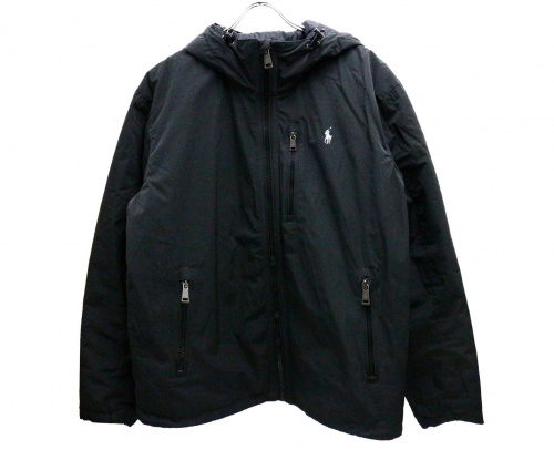 POLO RALPH LAUREN(ポロラルフローレン)POLO RALPH LAUREN (ポロラルフローレン) ダウンジャケット ブラック サイズ:Mの古着・服飾アイテム