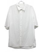 ()の古着「ショートスリーブビッグシャツ」|ホワイト