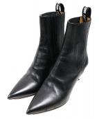 Christian Dior(クリスチャンディオール)の古着「ショートブーツ」|ブラック