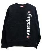 Supreme × INDEPENDENT(シュプリーム × インデペンデント)の古着「ファックザレストクルーネック」 ブラック
