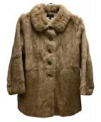 A.P.C.(アーペーセー)の古着「ラビットファージャケット」|ベージュ