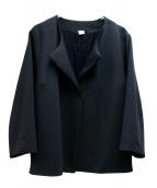 Ron Herman(ロンハーマン)の古着「ノーカラージャケット」 ブラック