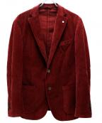 L.B.M.1911(ルビアム1911)の古着「コーデュロイ2Bジャケット」|レッド