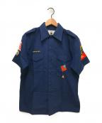 A BATHING APE(エイプ)の古着「ボーイスカウトシャツ」|ブラウン