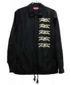Supreme × ANTI HERO(シュプリーム × アンタイヒーロー)の古着「コーチジャケット」|ブラック