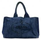 PRADA(プラダ)の古着「トートバッグ」|インディゴ