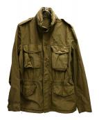 ASPESI(アスペジ)の古着「M65ジャケット」|ブラウン