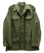 S.N.C.FLERS(エスエヌシーフレール)の古着「M-47フレンチミリタリージャケット」 グリーン