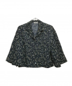 CLANE(クラネ)の古着「サルビアフラワープリントシャツ」|ネイビー