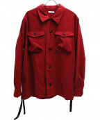 saby(サバイ)の古着「CPOジャケット」 レッド