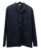 SEEALL()の古着「オープンカラーシャツ」|ネイビー