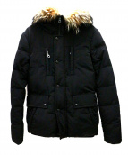 YVES SALOMON(イヴサロモン)の古着「ダウンコート」|ブラック