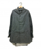 FACETASM(ファセッタズム)の古着「オープンデニムシャツ」 グレー