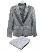 UNTITLED(アンタイトル)の古着「ドレッサーリオペルライトクロスセットアップスーツ」|グレー