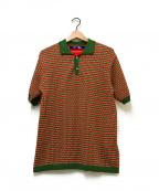 CDG JUNYA WATANABE MAN(コムデギャルソン ジュンヤワタナベマン)の古着「ポロシャツ」 グリーン