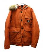 POLeR(ポーラー)の古着「アルダーパーカー」 オレンジ