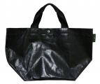 Herve Chapelier(エルベシャプリエ)の古着「マルシェバッグ」|ブラック
