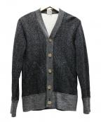 LOOPWHEELER(ループウィラー)の古着「ごま塩スウェットカーディガン」|グレー
