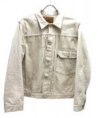 WAREHOUSE(ウエアハウス)の古着「1stデニムジャケット」 ホワイト