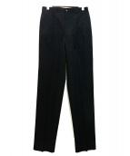 COMME des GARCONS HOMME DEUX(コムデギャルソンオムドゥ)の古着「オールド2タックパンツ」|ブラック