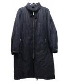 BURBERRY LONDON(バーバリーロンドン)の古着「パデットロングコート」|ブラック