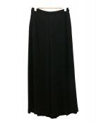 Deuxieme Classe(ドゥーズィエムクラス)の古着「トロミワイドパンツ」 ブラック