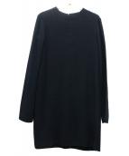 HELMUT LANG(ヘルムートラング)の古着「ブラウスワンピース」 ブラック
