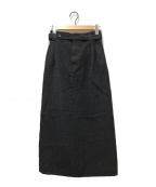 Y's(ワイズ)の古着「オールドウールロングスカート」|グレー