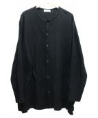 YohjiYamamoto pour homme(ヨウジヤマモトプールオム)の古着「強撚度詰スムースカーディガン」|ブラック