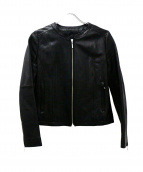 UNTITLED(アンタイトル)の古着「ラムレザージャケット」 ブラック