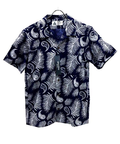CHALLENGER(チャレンジャー)CHALLENGER (チャレンジャー) フェザーハワイアンシャツ ネイビー サイズ:XL 未使用品の古着・服飾アイテム