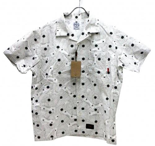 WTAPS(ダブルタップス)WTAPS (ダブルタップス) オープンカラーシャツ ホワイト サイズ:L 未使用品の古着・服飾アイテム