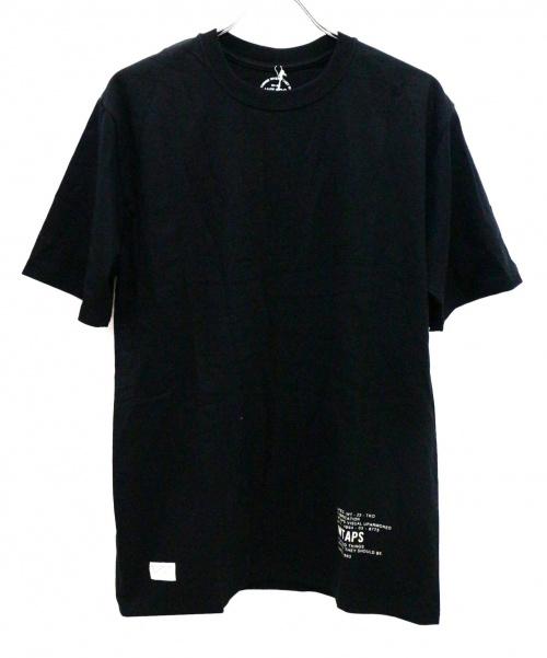 WTAPS(ダブルタップス)WTAPS (ダブルタップス) プリントTシャツ ブラック サイズ:3の古着・服飾アイテム