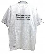 WTAPS(ダブルタップス)の古着「スペックプリントTシャツ」|ホワイト
