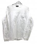COMME des GARCONS(コムデギャルソン)の古着「綿天竺ロゴカットソー」 ホワイト