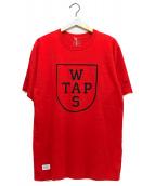 WTAPS(ダブルタップス)の古着「プリントTシャツ」|レッド