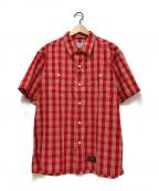 WTAPS()の古着「S/Sシャツ」|レッド