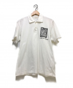 COMME des GARCONS(コムデギャルソン)の古着「ポロシャツ」|ホワイト