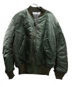 JOURNAL STANDARD TRISECT(ジャーナルスタンダードトライセクト)の古着「MA-1ジャケット」|カーキ